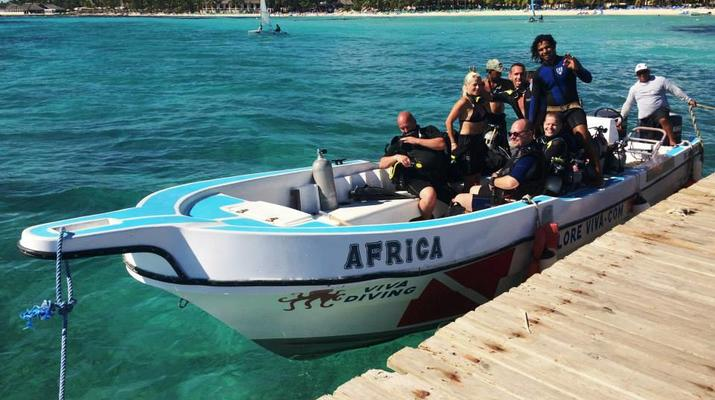 Scuba Diving-Bayahibe-PADI Scuba diving course in Bayahibe, Dominican Republic-1