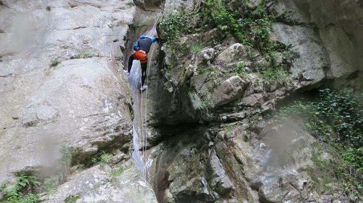 Canyoning-Nice-Canyon de l'Imberguet près de Nice-1