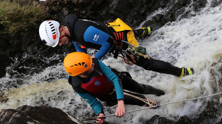 Canyoning-Fort William-Inchree Falls-Schlucht in Fort William-3