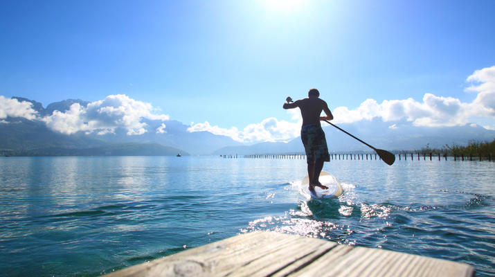 Stand Up Paddle-Annecy-Location stand up paddle sur le Lac d'Annecy-1