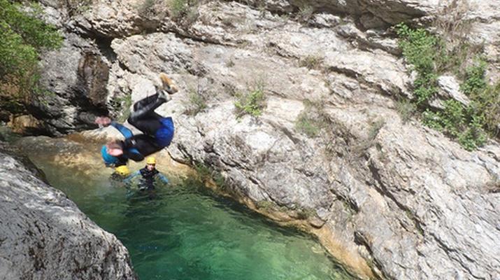 Canyoning-Monaco-Canyon du Ruisseau d'Audin à proximité de Monaco-2
