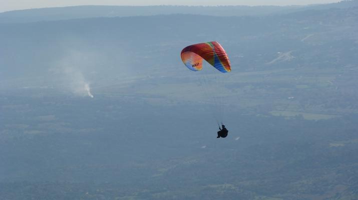 Paragliding-Madrid-Tandem paragliding flight near Madrid-4