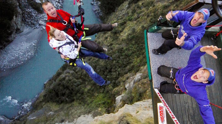 Bungee Jumping-Queenstown-Canyon Swing from 109 metres over Shotover Canyon-4
