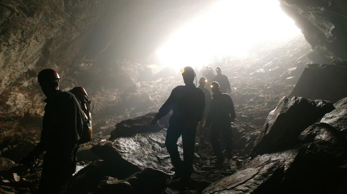 Caving-Fauske-Wild caving in Northern Norway near Bodø-6
