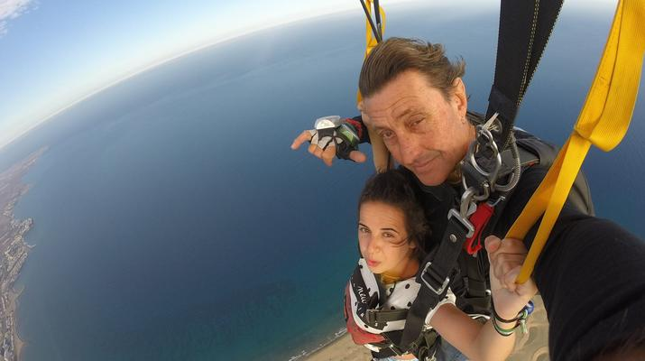 Skydiving-Maspalomas, Gran Canaria-Tandem Skydiving over Maspalomas, Gran Canaria-2