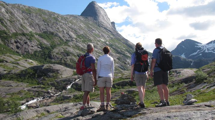 Hiking / Trekking-Bodø-Guided hiking excursion in the Hidden Valley near Bodø-5