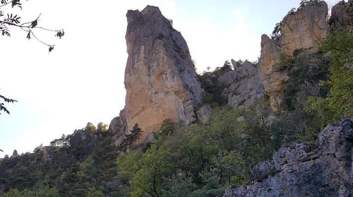 Escalade-Gorges du Tarn-Découverte de l'escalade grande voie dans les Gorges du Tarn-6