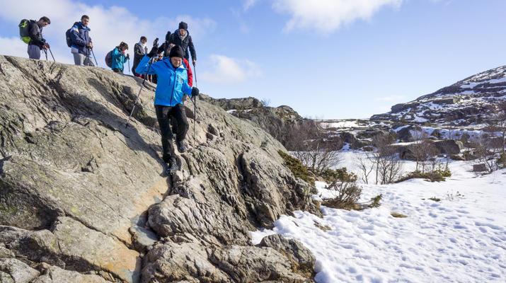 Randonnée / Trekking-Stavanger-Randonnée naturelle vers Preikestolen (rocher de la chaire) à Ryfylke.-2