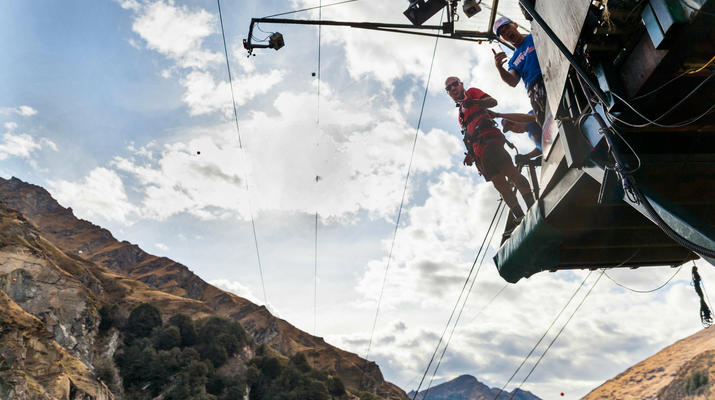 Bungee Jumping-Queenstown-Canyon Swing from 109 metres over Shotover Canyon-12