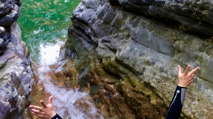 Canyoning-Lake Garda-Tignale Canyon, near Lake Garda-2