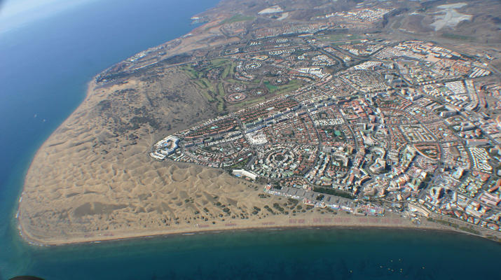 Skydiving-Maspalomas, Gran Canaria-Tandem Skydiving over Maspalomas, Gran Canaria-5
