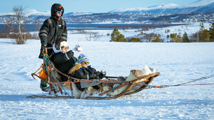 Dog sledding-Tromsø-Self-drive Arctic dog sledding excursion in Tromsø-1
