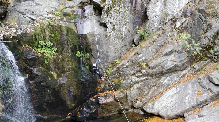Canyoning-Gorges du Tarn-Canyon des gorges du Tapoul depuis Sainte-Enimie-8