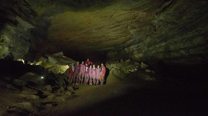 Spéléologie-Gorges du Tarn-Spéléologie dans la Grotte de Castelbouc dans les Gorges du Tarn-2