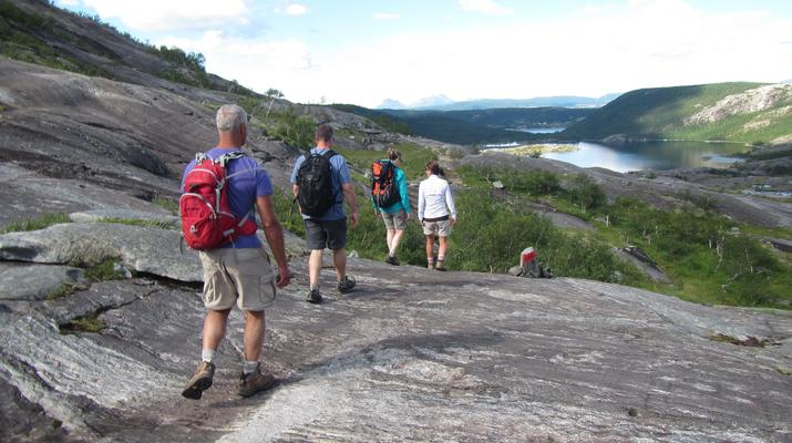 Hiking / Trekking-Bodø-Guided hiking excursion in the Hidden Valley near Bodø-4