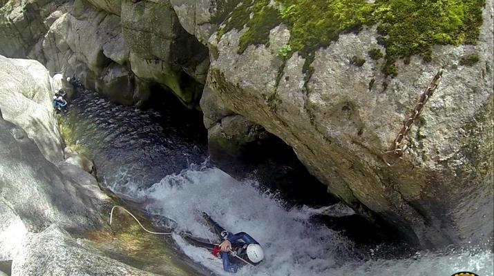 Canyoning-Gorges du Tarn-Canyon des gorges du Tapoul depuis Sainte-Enimie-2