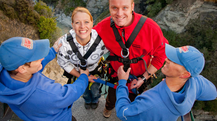 Bungee Jumping-Queenstown-Canyon Swing from 109 metres over Shotover Canyon-14