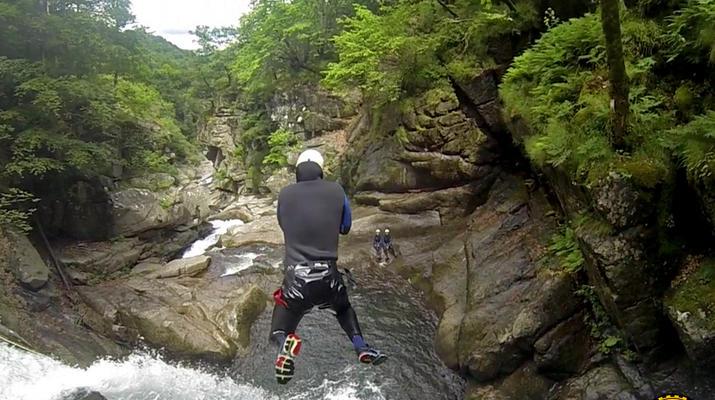 Canyoning-Gorges du Tarn-Canyon des gorges du Tapoul depuis Sainte-Enimie-1