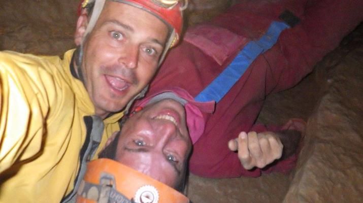 Spéléologie-Gorges du Tarn-Spéléologie dans la Grotte de Castelbouc dans les Gorges du Tarn-4