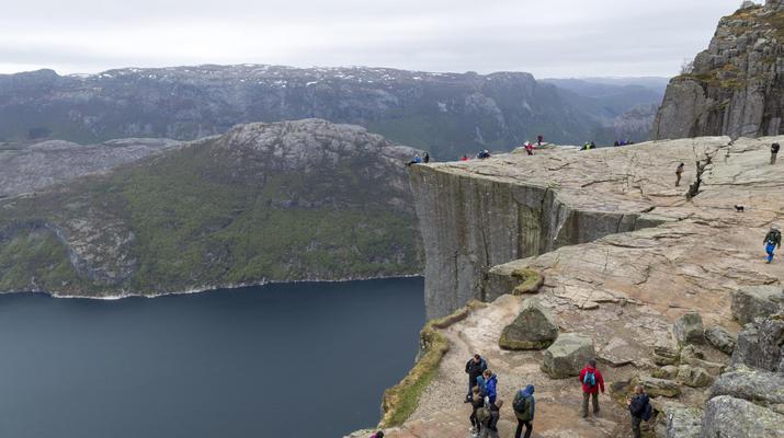Randonnée / Trekking-Stavanger-Randonnée naturelle vers Preikestolen (rocher de la chaire) à Ryfylke.-8