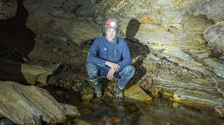 Caving-Fauske-Wild caving in Northern Norway near Bodø-3