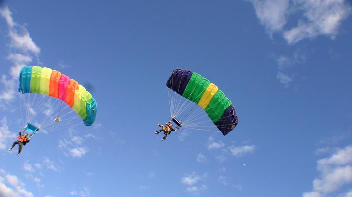 Skydiving-Maspalomas, Gran Canaria-Tandem Skydiving over Maspalomas, Gran Canaria-3