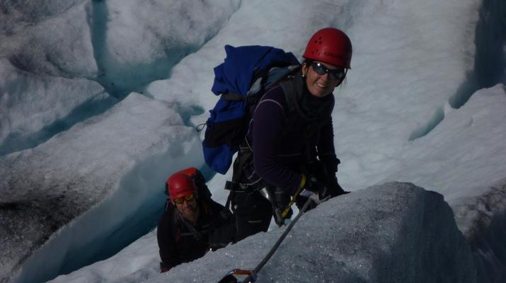 Glacier hiking-Halsa-Hiking trip on Svartisen glacier in Northern Norway-2