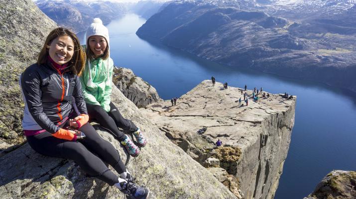 Randonnée / Trekking-Stavanger-Randonnée naturelle vers Preikestolen (rocher de la chaire) à Ryfylke.-7