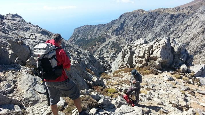 Wandern/Trekking-Almyrida-Trekking im Lefka Ori Gebirge auf Kreta-2