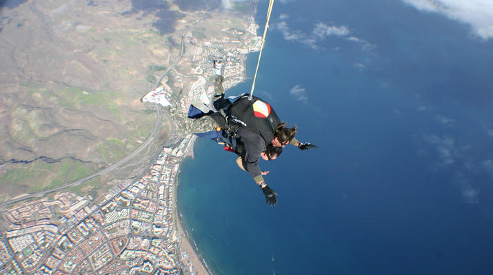 Skydiving-Maspalomas, Gran Canaria-Tandem Skydiving over Maspalomas, Gran Canaria-7