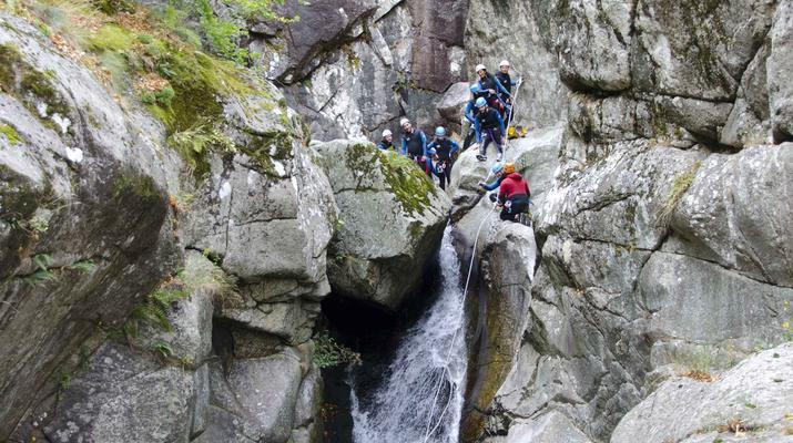 Canyoning-Gorges du Tarn-Canyon des gorges du Tapoul depuis Sainte-Enimie-5