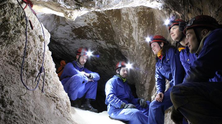 Caving-Fauske-Wild caving in Northern Norway near Bodø-4