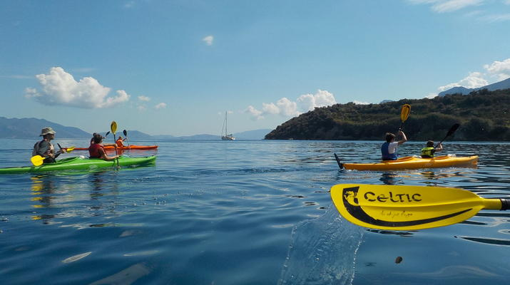 Kayak de mer-Epidaurus-Excursion en kayak de mer dans la ville engloutie d'Epidaure-6