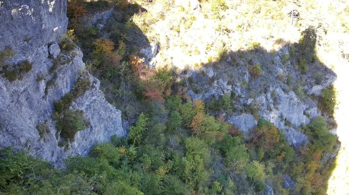 Escalade-Gorges du Tarn-Découverte de l'escalade grande voie dans les Gorges du Tarn-5