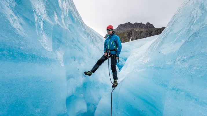 Glacier hiking-Halsa-Hiking trip on Svartisen glacier in Northern Norway-1
