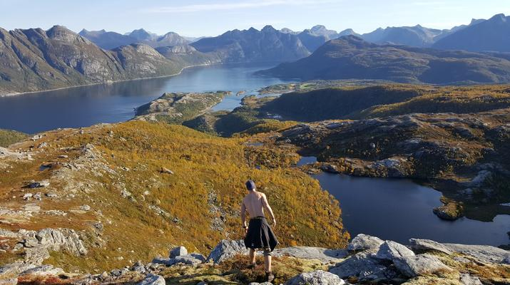 Hiking / Trekking-Bodø-Guided summit hike to Mt. Litltind in Bodø-6