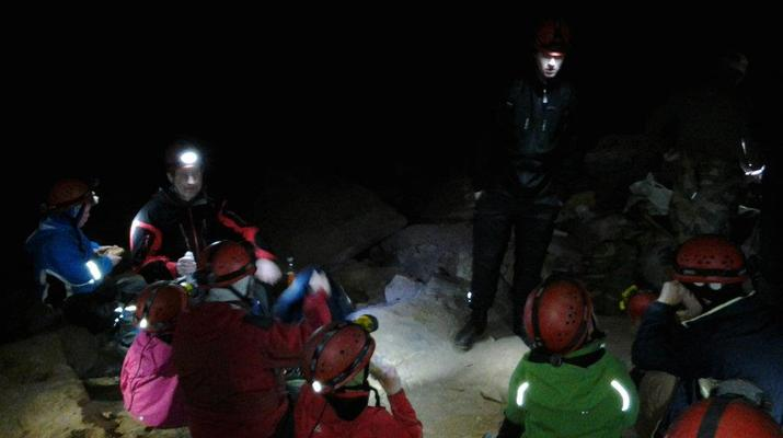 Caving-Fauske-Wild caving in Northern Norway near Bodø-2