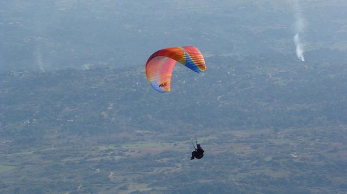 Paragliding-Madrid-Tandem paragliding flight near Madrid-5