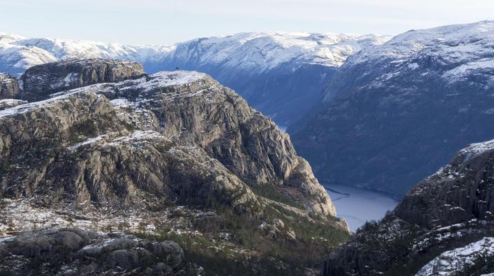 Randonnée / Trekking-Stavanger-Randonnée naturelle vers Preikestolen (rocher de la chaire) à Ryfylke.-1