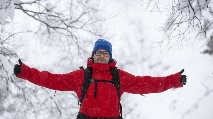 Snowshoeing-Stavanger-Winter/Spring Hike to Preikestolen (Pulpit Rock) in Ryfylke-10