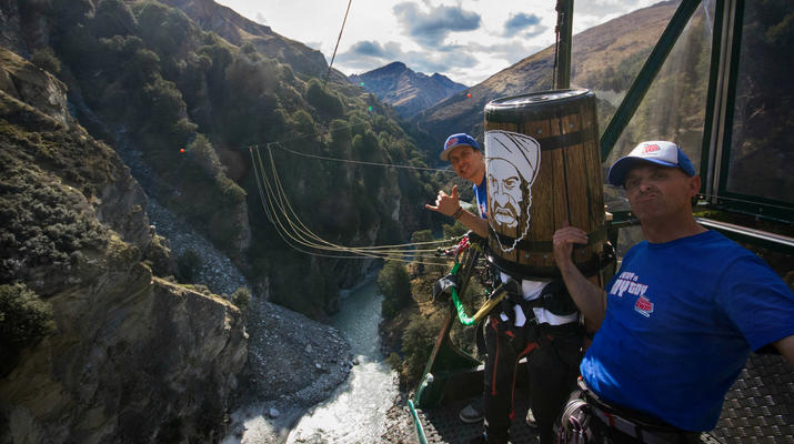 Bungee Jumping-Queenstown-Canyon Swing from 109 metres over Shotover Canyon-8