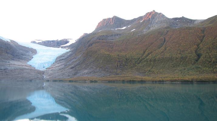 Glacier hiking-Halsa-Hiking trip on Svartisen glacier in Northern Norway-5