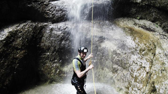 Canyoning-Gesäuse National Park-Rio Esca Canyoning tour in the Gesäuse Nationalpark-2