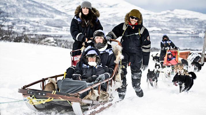 Dog sledding-Tromsø-Arctic morning dog sledding excursion in Tromsø-3