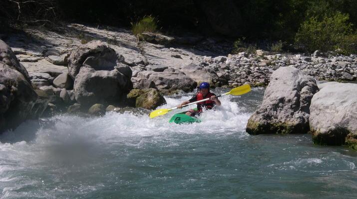 Canoë-kayak-Nice-Descente du Var en canoë-kayak depuis Villars-sur-Var-6
