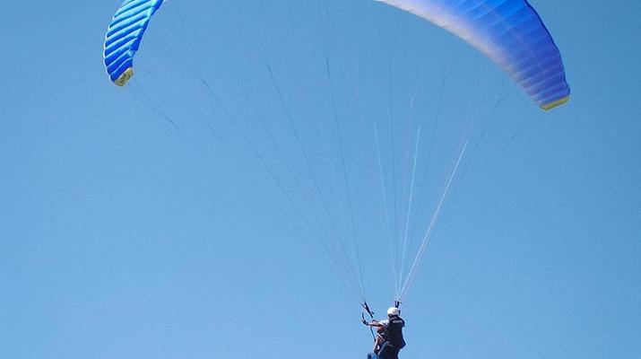 Paragliding-Las Palmas de Gran Canaria-Tandem paragliding in Los Giles, Gran Canaria-6