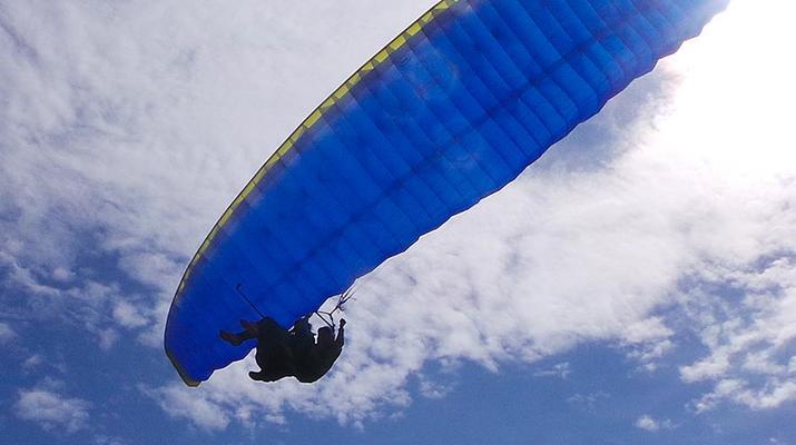 Paragliding-Las Palmas de Gran Canaria-Tandem paragliding in Los Giles, Gran Canaria-4