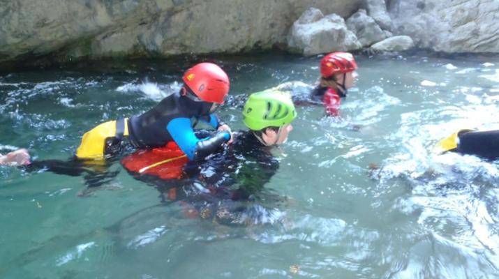 Canyoning-Lake Garda-Family Canyoning Tour in Lake Garda-6