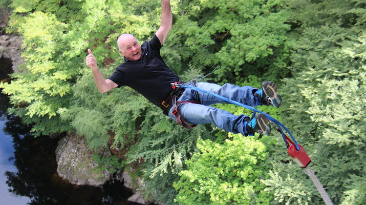Bungee Jumping-Killiecrankie-Bungee Jump over the Garry River in Killiecrankie-6