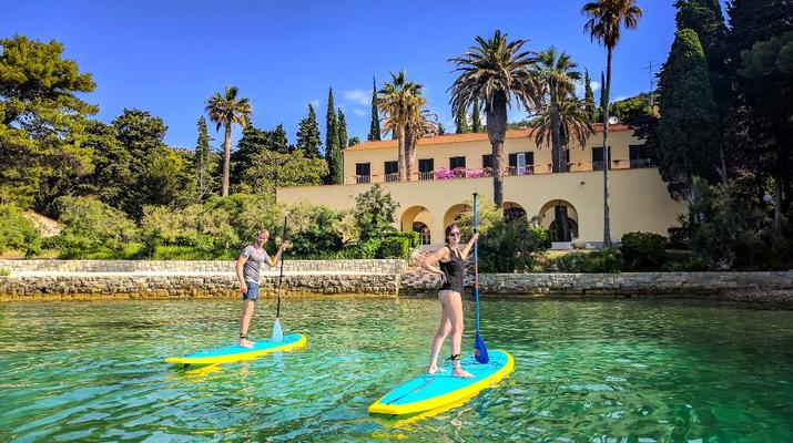 Stand up Paddle-Split-SUP excursions from Stobrec Beach inSplit-1